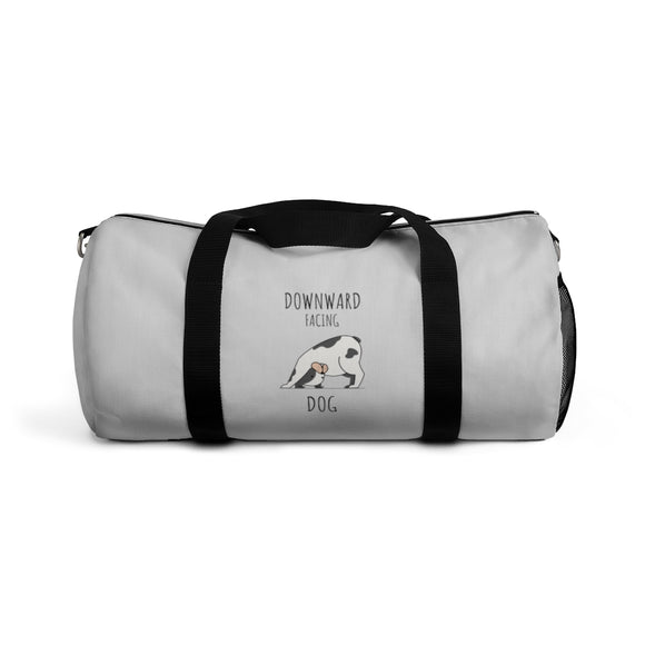 Downward Facing Dog Small Duffel Bag