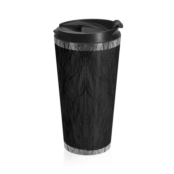 Black Foil Travel Mug
