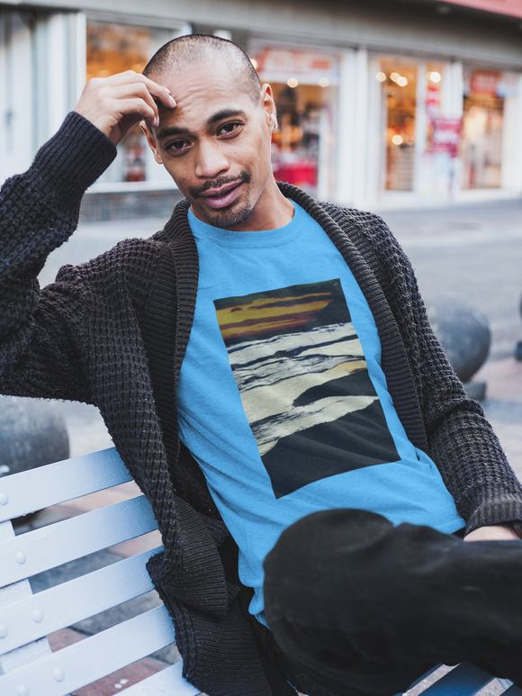 Dusk by the Sea Men's District Very Important Tees