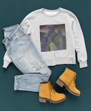 Outfit layout for Molds Women's Molds Heavy Blend™ Crewneck Sweatshirt. Price range $30.00-$37.00