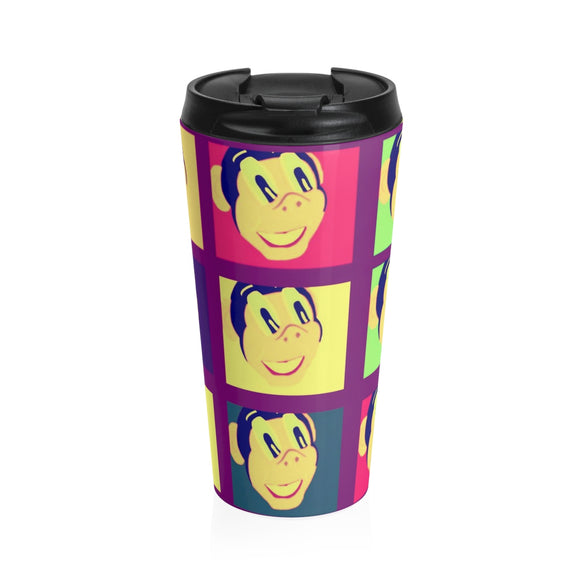 Miss Dee's Colorific Vintaged Poster Travel Mug