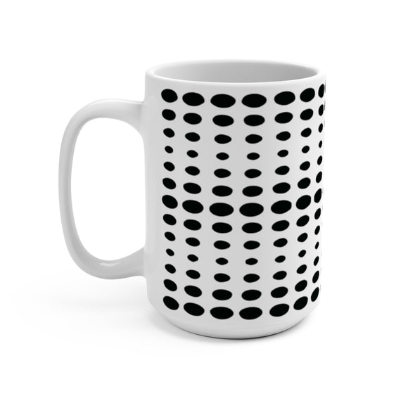 Dotty Dots 15 Ounce Ceramic Mug
