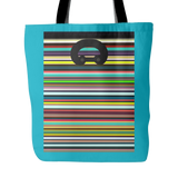 "Carlisle Tote-Blue. 18""x18"". Full price is $25.00"
