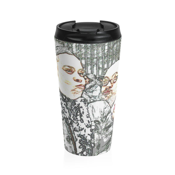 City Folks on Break Travel Mug