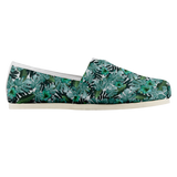 Summer Floral Green Casual Espadrille Shoe (Sizes US 4.5-14)