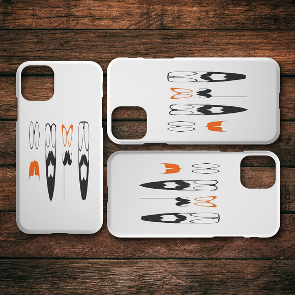 No Shave Movember iPhone Cases Series 6/6s - 11 Pro Max (Slim and Tough)