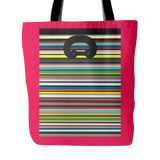 "Carlisle Tote-Cherry. 18""x18"". Full price is $25.00"