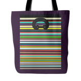 "Carlisle Tote-Metropolitan purple. 18""x18"". Full price is $25.00"