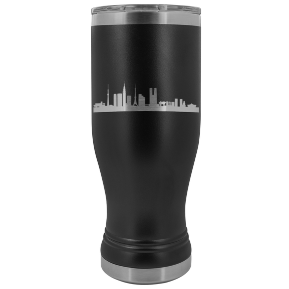 Tokyo Skyline 20 ounce BOHO Stainless Steel Tumbler (12 colors)