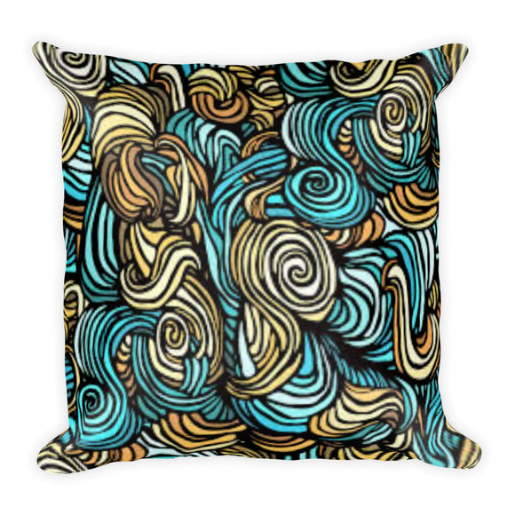 Curls Pillow