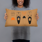 Movember for Men Stuffed Accent Pillow