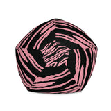 Tiger Pink Bean Bag Chair w/ filling