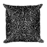 Count with Me Square Pillow