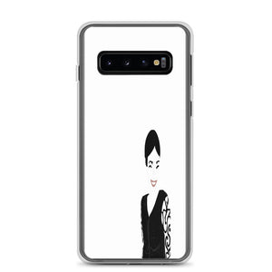 Belle's White Samsung Galaxy Phone Cases--Series S7 - S10+