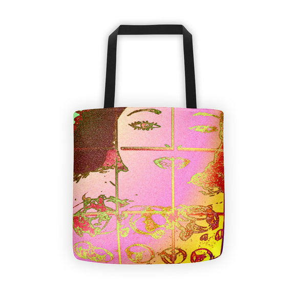Made Up Pallette Tote bag