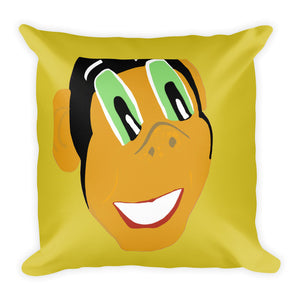 Miss Dee's Happy Place Pillow (yellow)