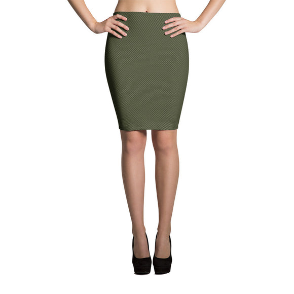 Chryss W Pencil Skirt