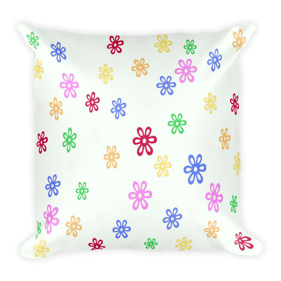Cottage Style Square Pillow