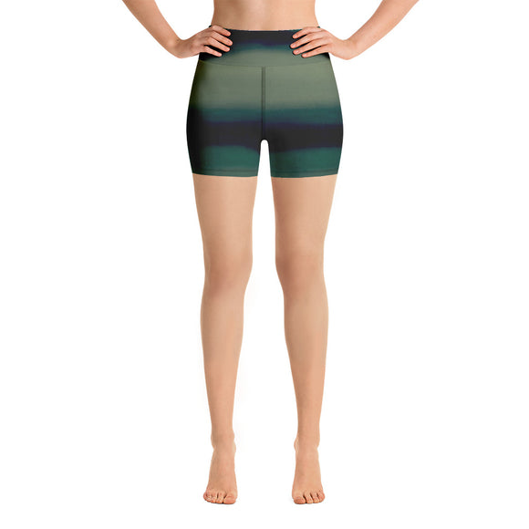 Strong Waves Yoga Shorts