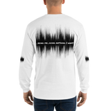 Being Me Doing Anything I Want Men's Long Sleeve White T-Shirt (Size S-5XL)--Personalization