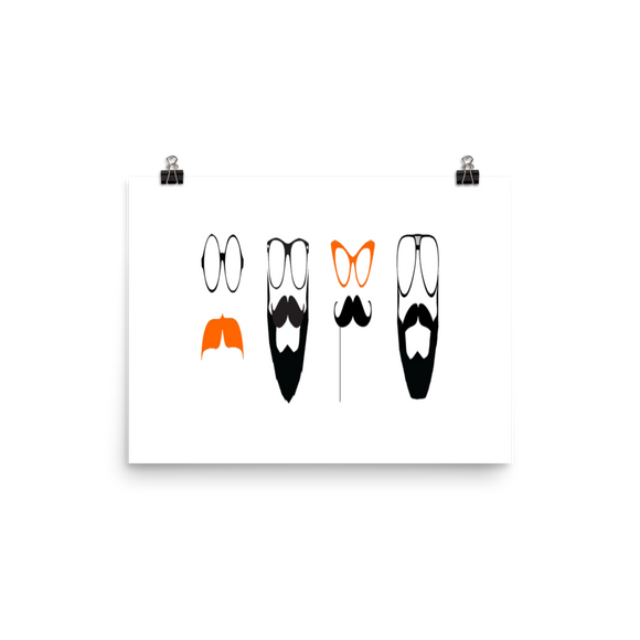 Movember Movement Poster (inches) 2 sizes