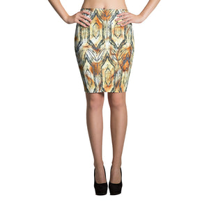 Euphony Smoker's Pencil Skirt