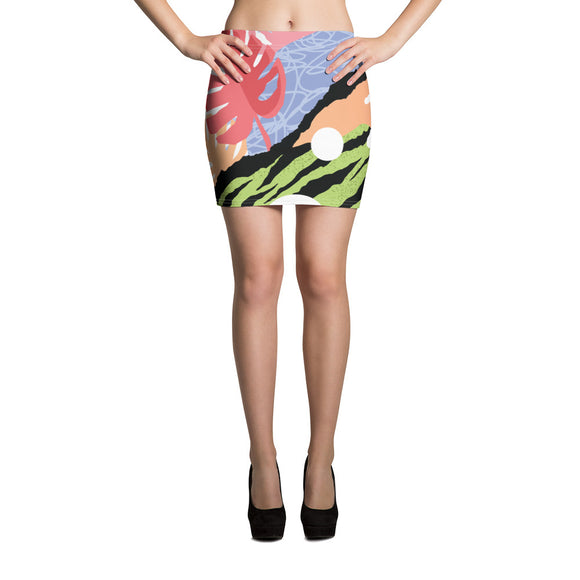 Pop Art Mini Skirt
