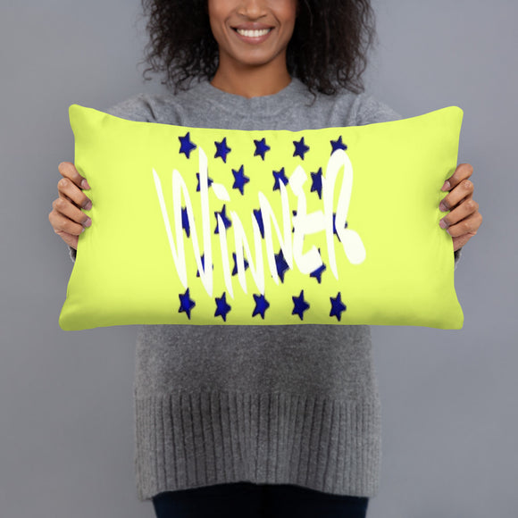 Winner Stuffed Pillows