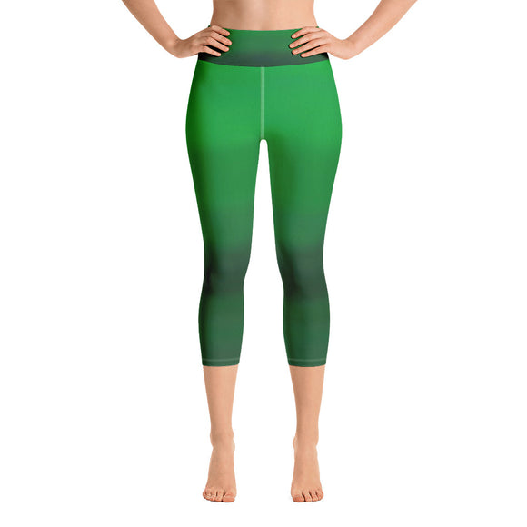 Good Vibes Yoga Capri Leggings