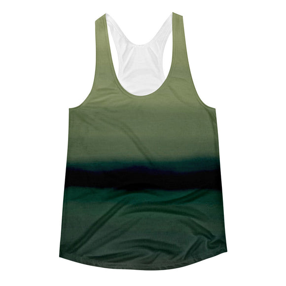 Strong Waves Womens Racerback Tank