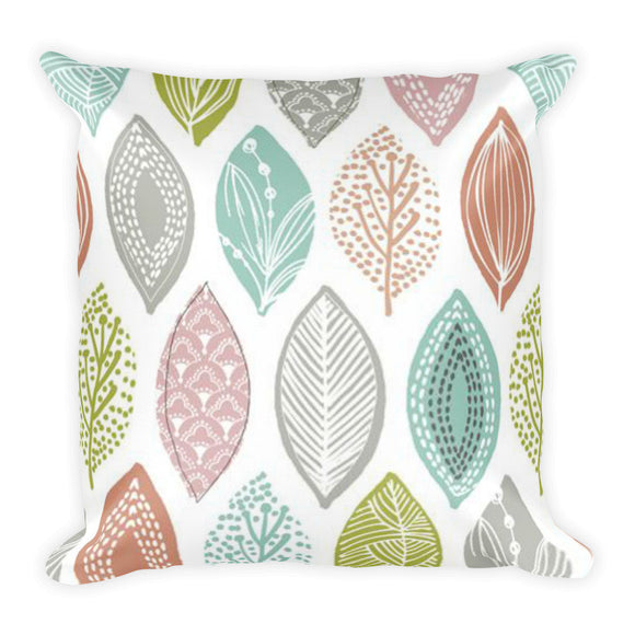 Leaves Soft Pillow
