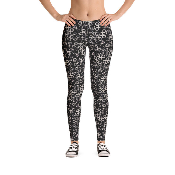 Star Splotch (black) Legging