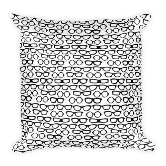 Specs Square Pillow