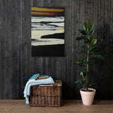 Dusk by the Sea Canvas (in) 4 Sizes