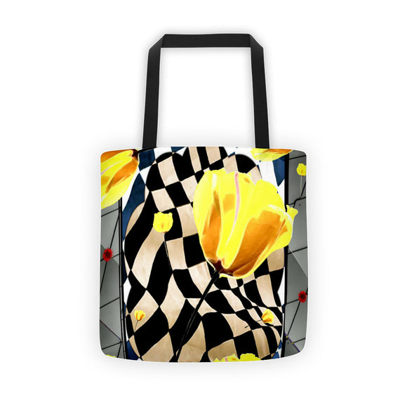 Tulips Concert Tote Bag
