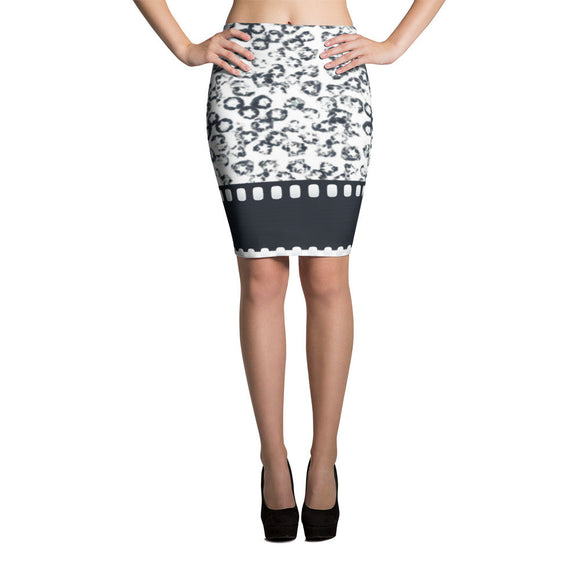 Star Splotch Pencil Skirt, Style 2