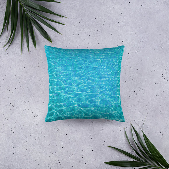 Poolside Stuffed Pillows