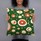 Geo Christmas Super Soft Stuffed Pillows