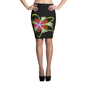 Daisies Pencil Skirt