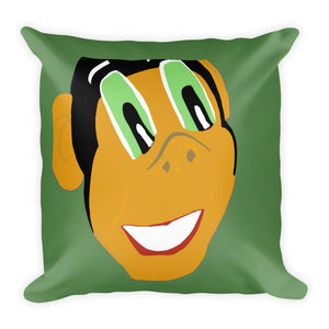 Miss Dee's Happy Place Pillow (green)