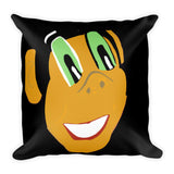 Miss Dee's Happy Place Pillow (black)