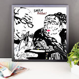 Smile babe!, Framed Selfie Couple Posters
