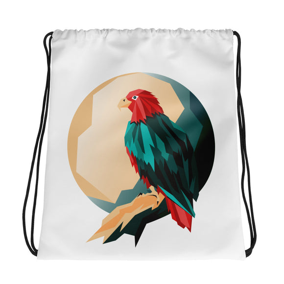 Eagle Drawstring Bag