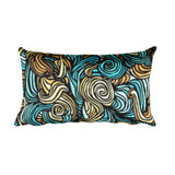 Curls I Accent Pillow