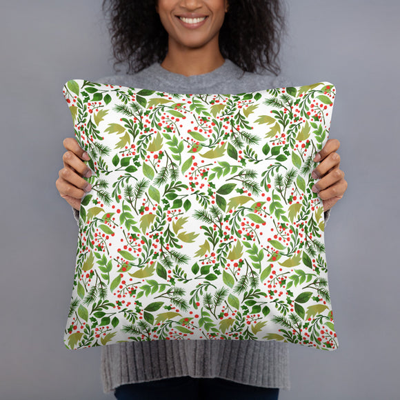Holly Super Soft Stuffed Pillows