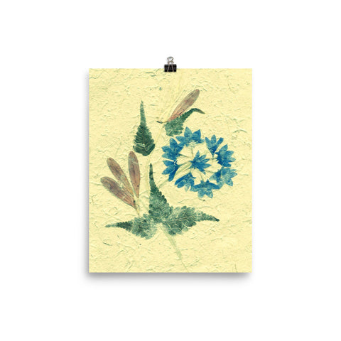 Pressed Dry Flower Poster 2