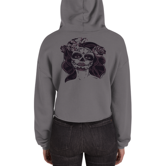 Miss Revelry Ladies Crop Hoodie (3 Colors) Size S-2XL--Personalization