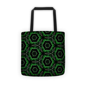 Bee Green Tote Bag
