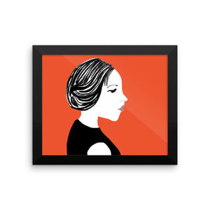 Salon Hot Touch Framed Posters