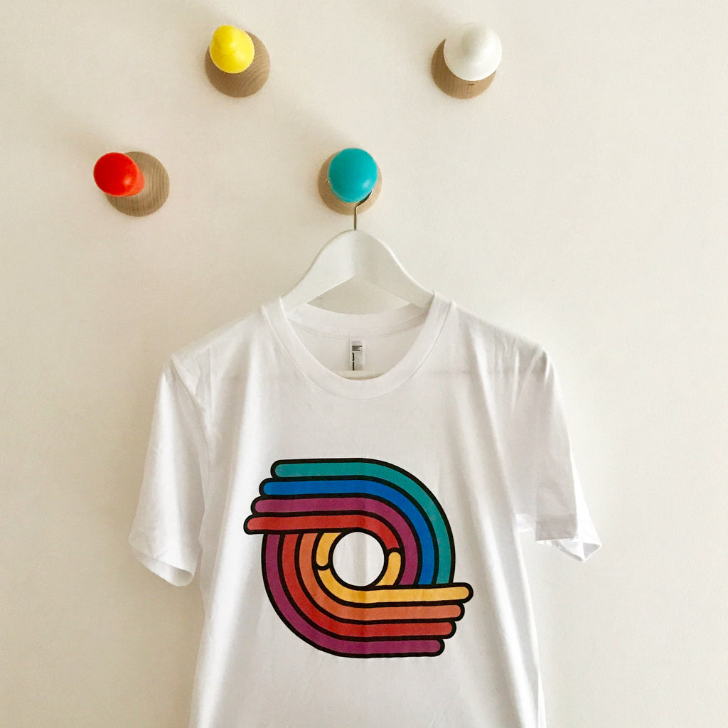 Classic Logo T-shirt | Full Colour on White